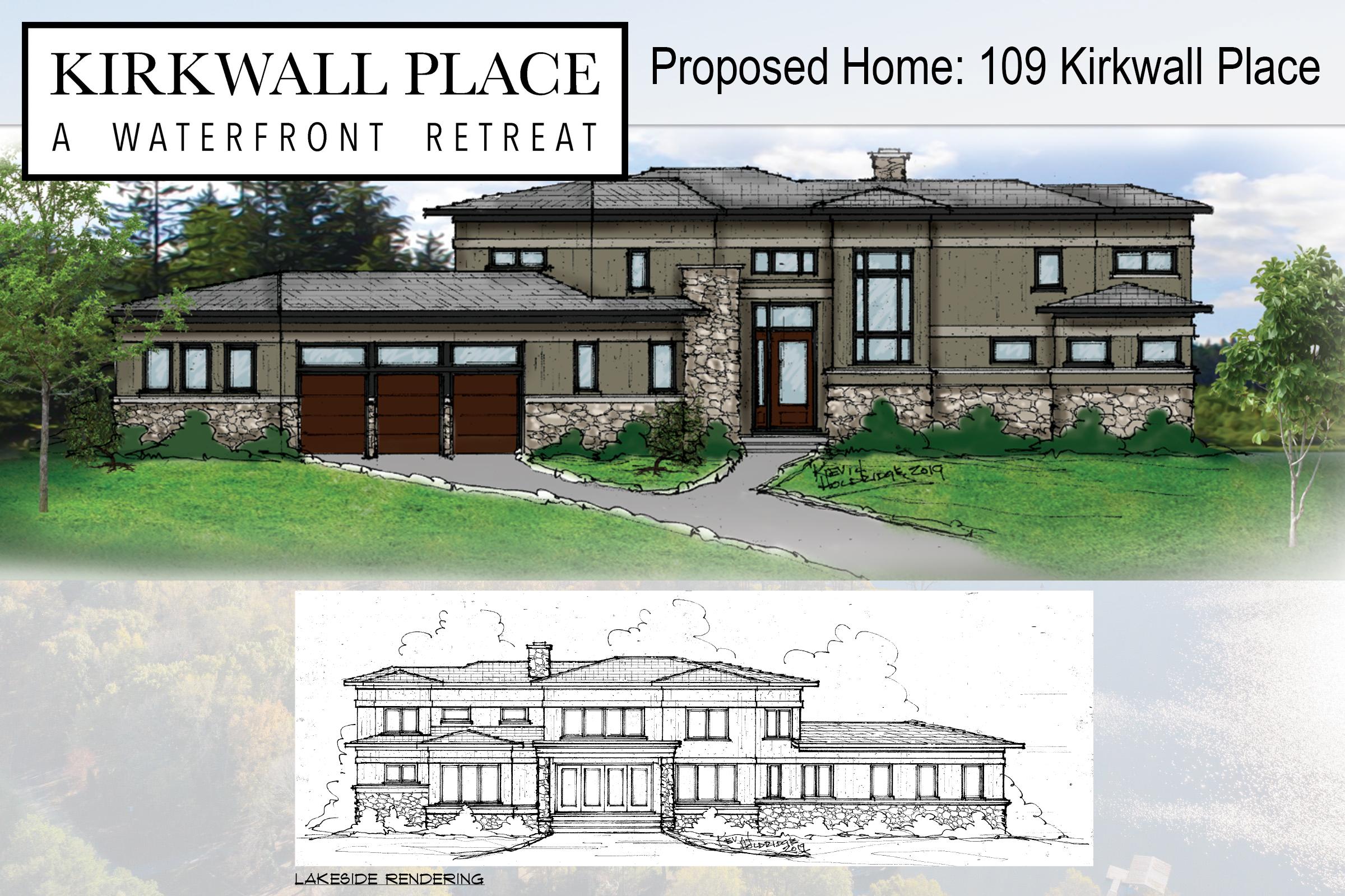 Renderings of Proposed Home
