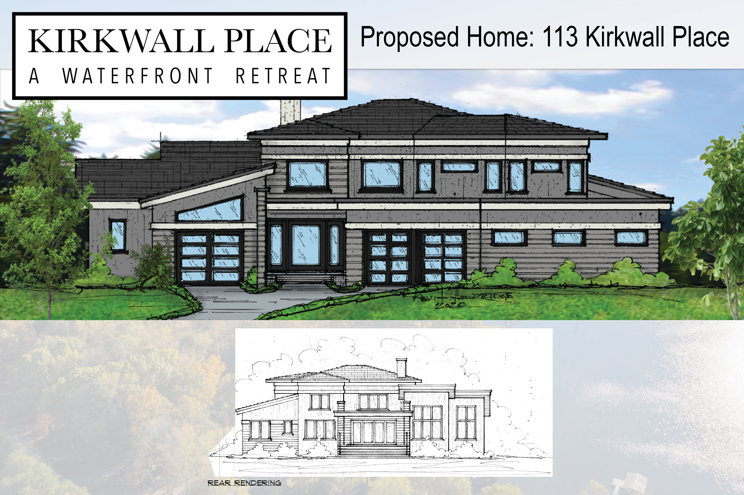 Rendering for Proposed Home - 113 Kirkwall Place