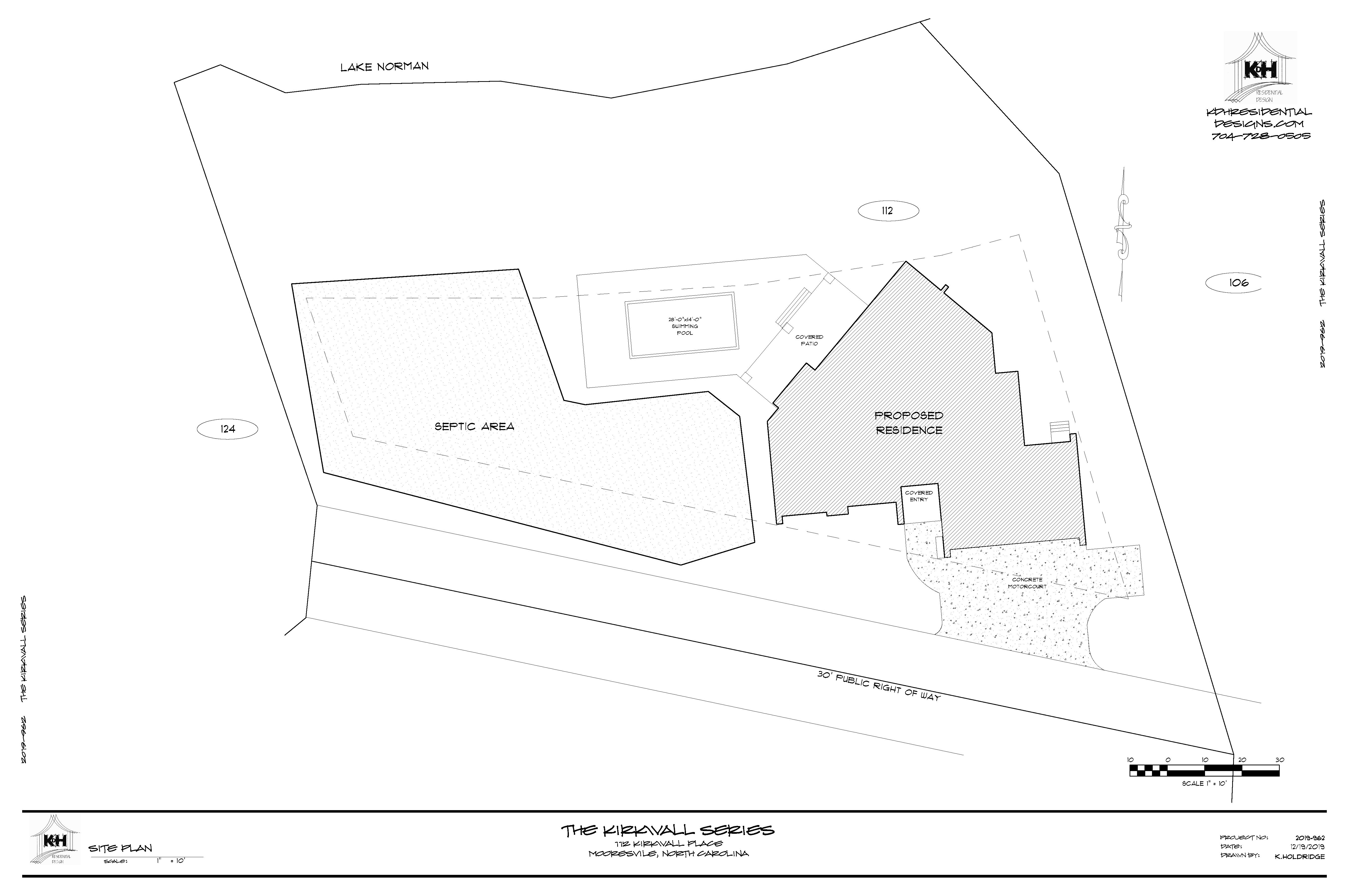 Lot Plan - 112 Kirkwall Place