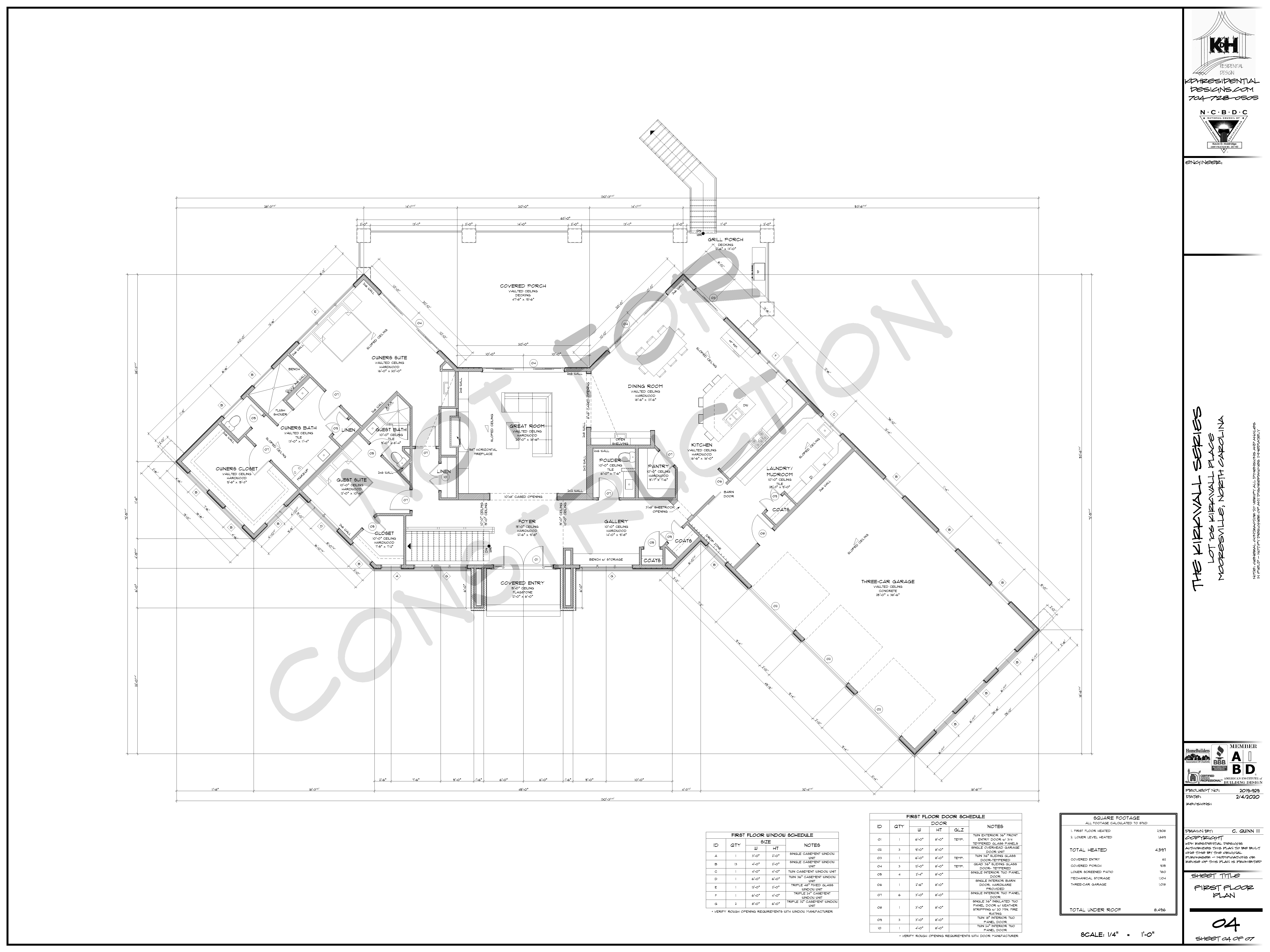 Proposed Floor Plan (Main Level)