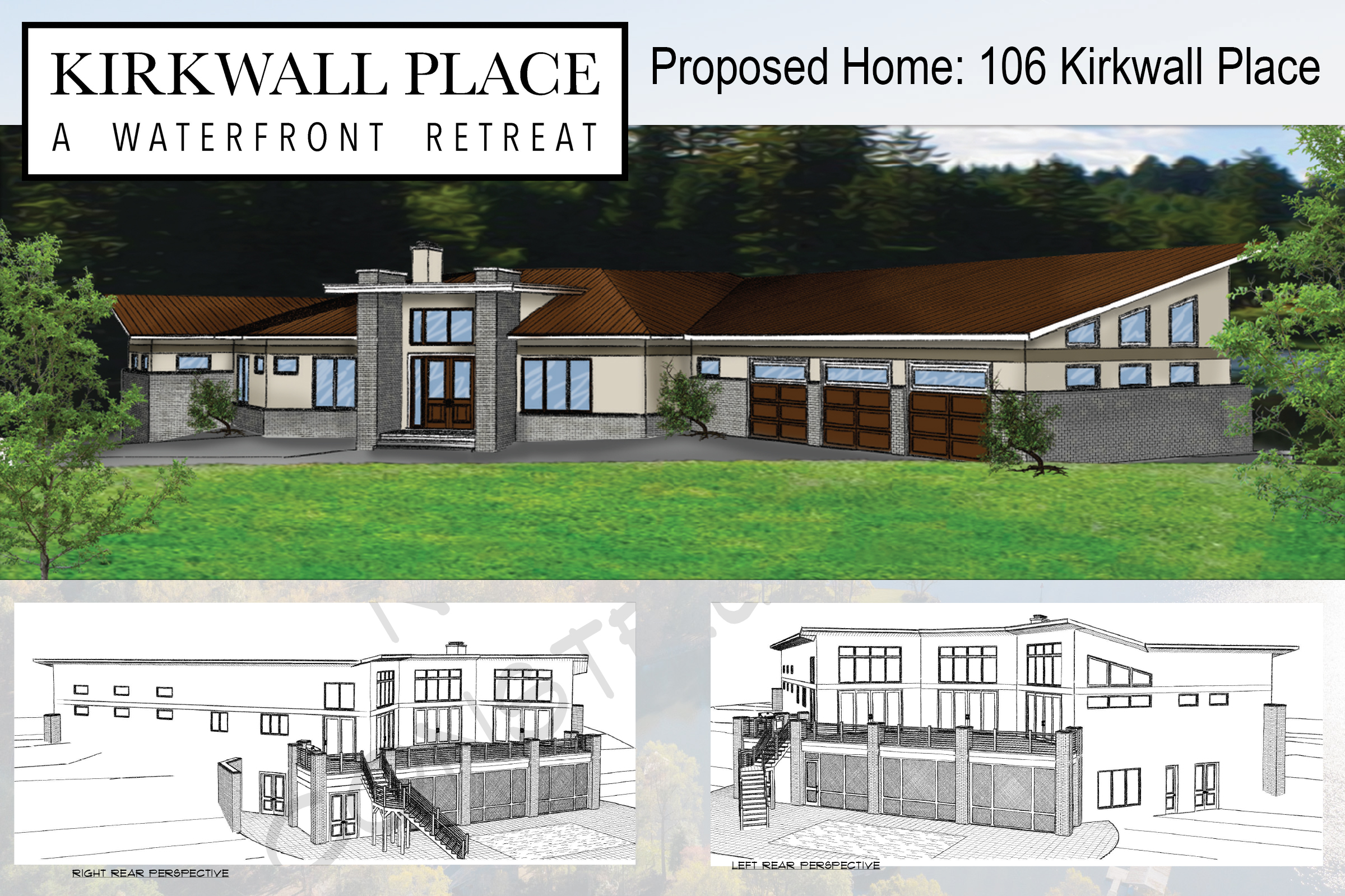 Renderings of Proposed Home