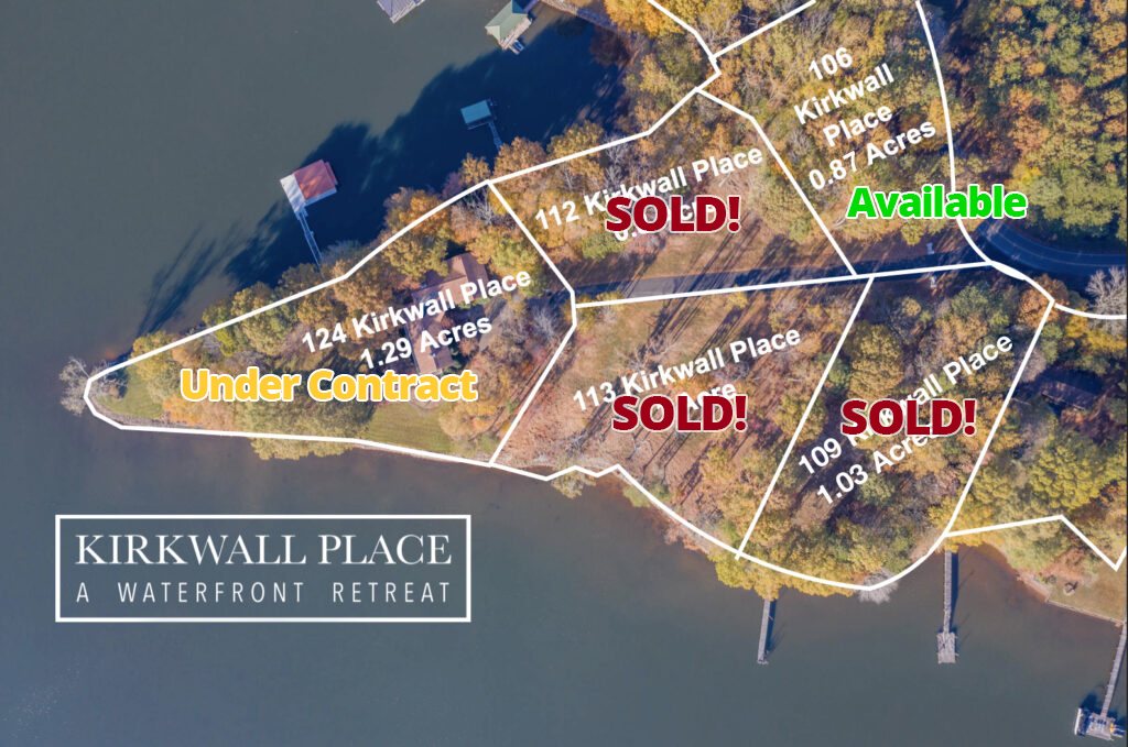 Kirkwall Place just one lot left!