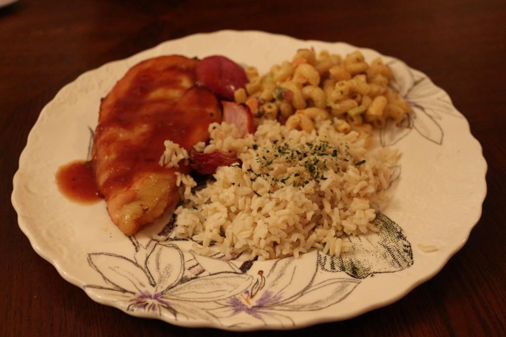 Hawaiian Mixed Plate