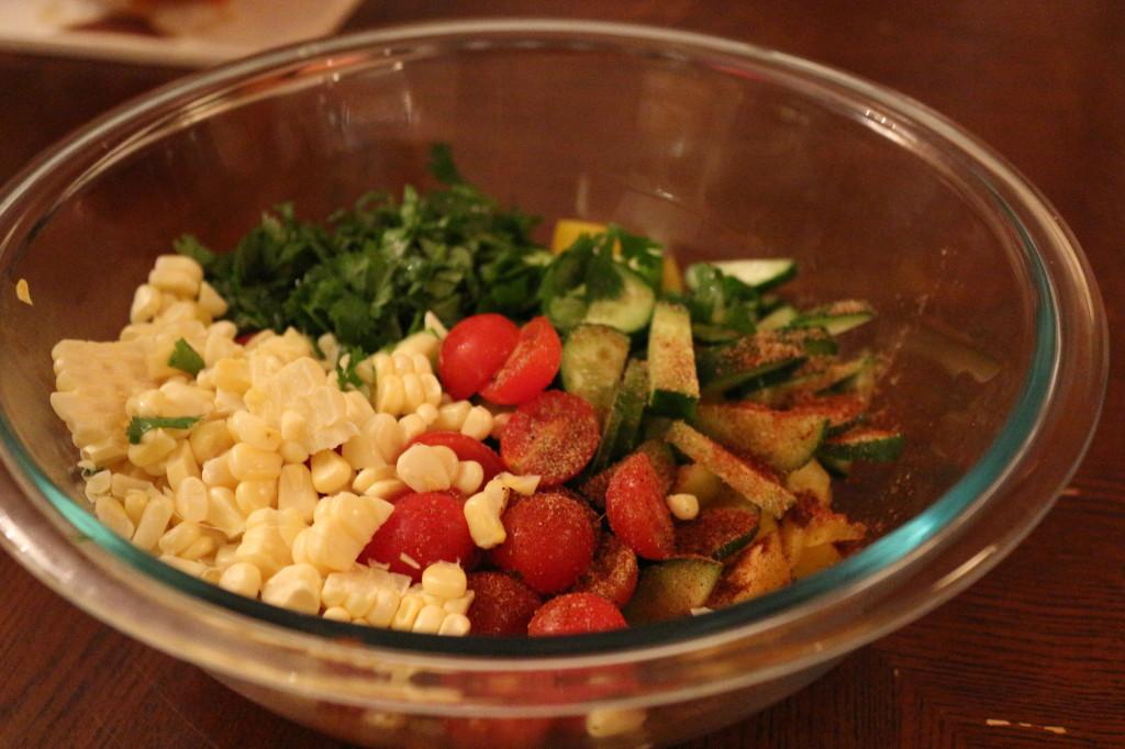 Mexican slaw salad