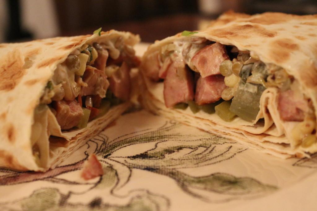 Lentil Wrap