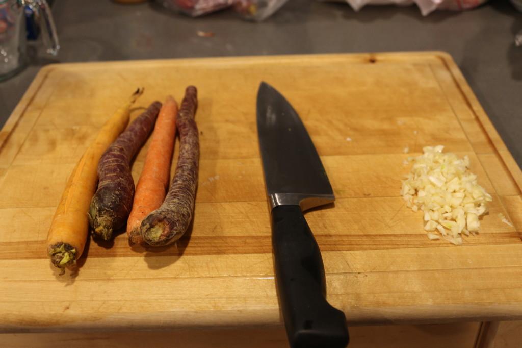 Carrots and Garlic