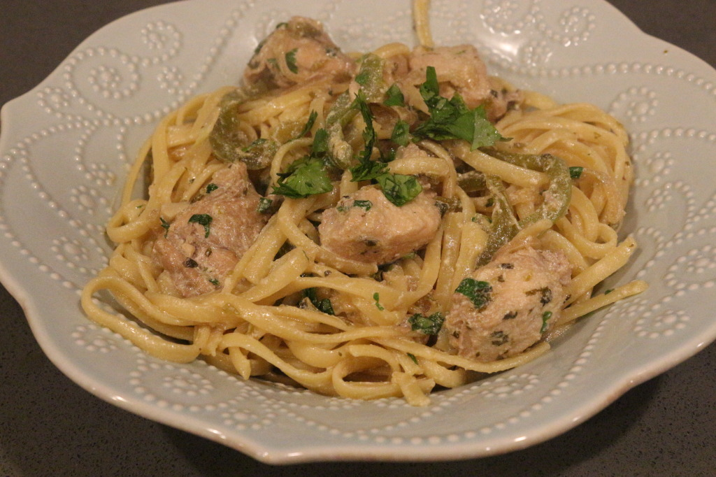 Tequila Lime Linguine