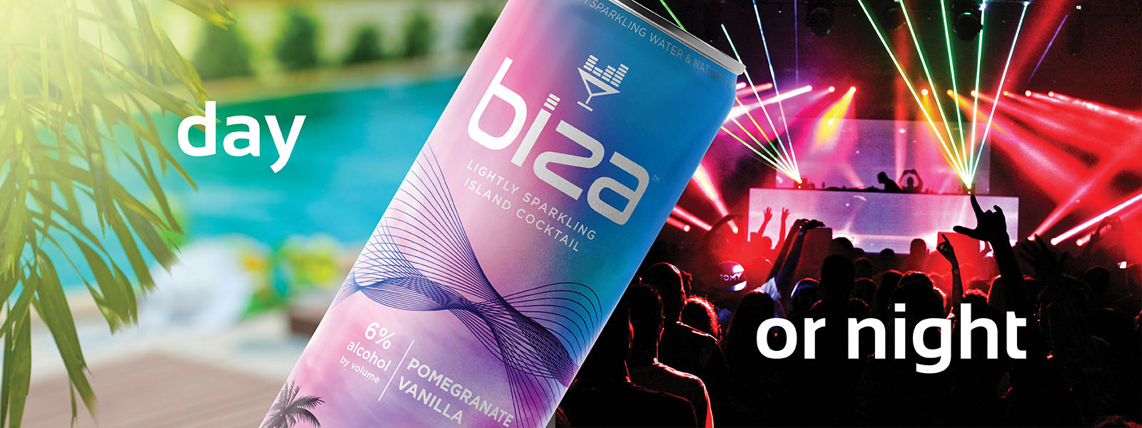 Day or night, Biza cocktails are the perfect drink.