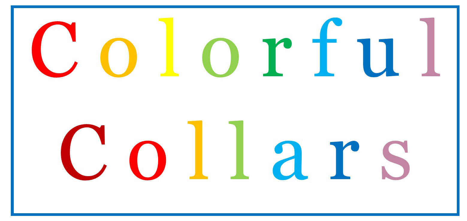 Colorful Collars