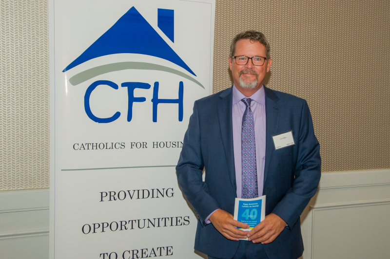 "Catholics for Housing 40th Anniversary Gala ""Foundations to Hope, 1979 - 2019,"" Westfields Conference Center, Chantilly, VA, Friday, October 4, 2019. (Photo by Max Taylor) Conference Center, Chantilly, VA, Friday, October 4, 2019. (Photo by Max Taylor)"
