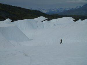 Trekking the Matanuska Glacier