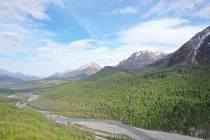 Alaska bush plane backpacking