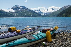 Sea Kayak near the Blackstone Glacier