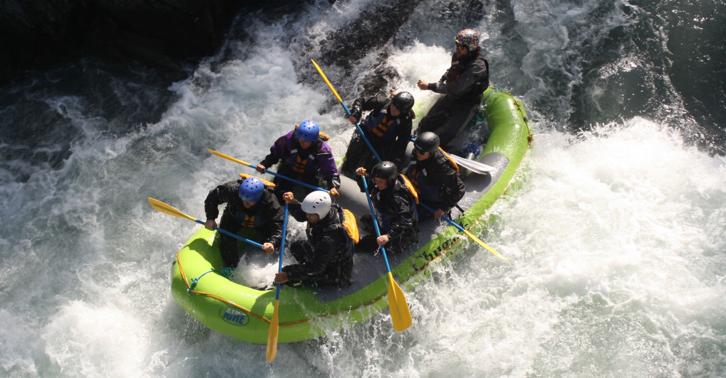 Alaska Whitewater Rafting