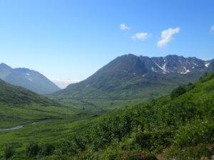 Alaska backpacking exposure