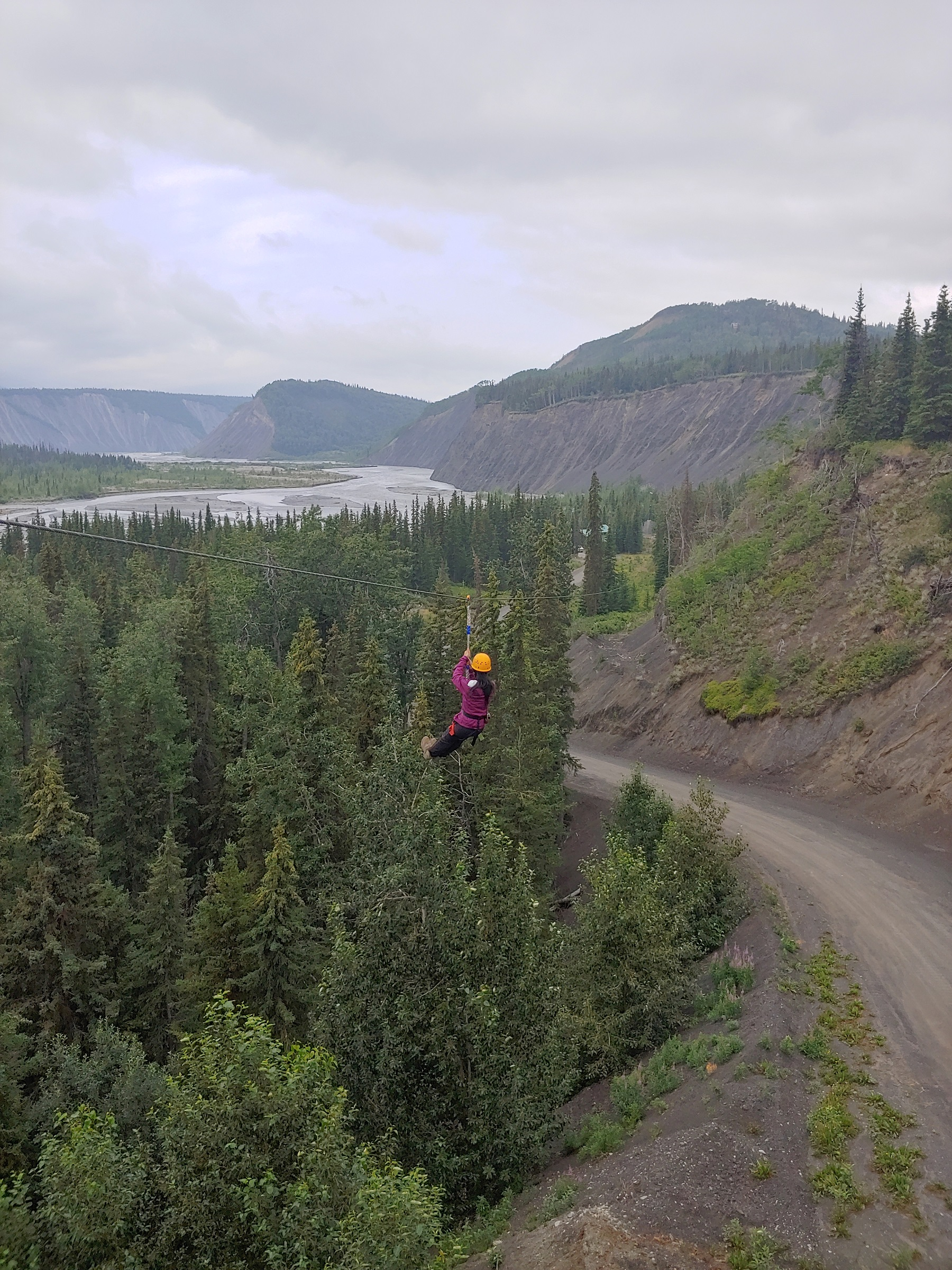 Alaska Zipline Advenutre