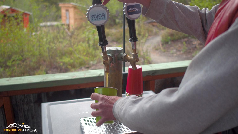 Alaska Beer on Tap