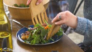 Salad Rations in Alaska