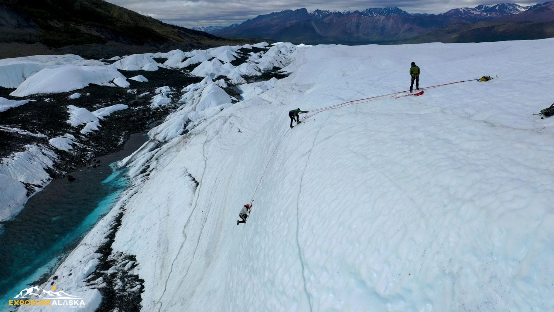 Exposure Alaska Ice Climbing