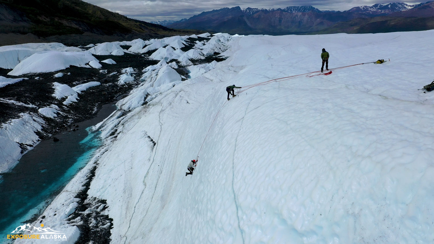 Exposure Alaska Ice Climbing