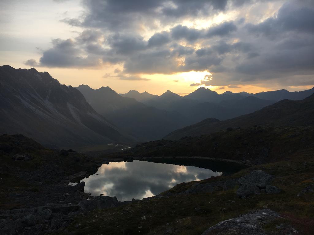 Exposure Alaska Sunset