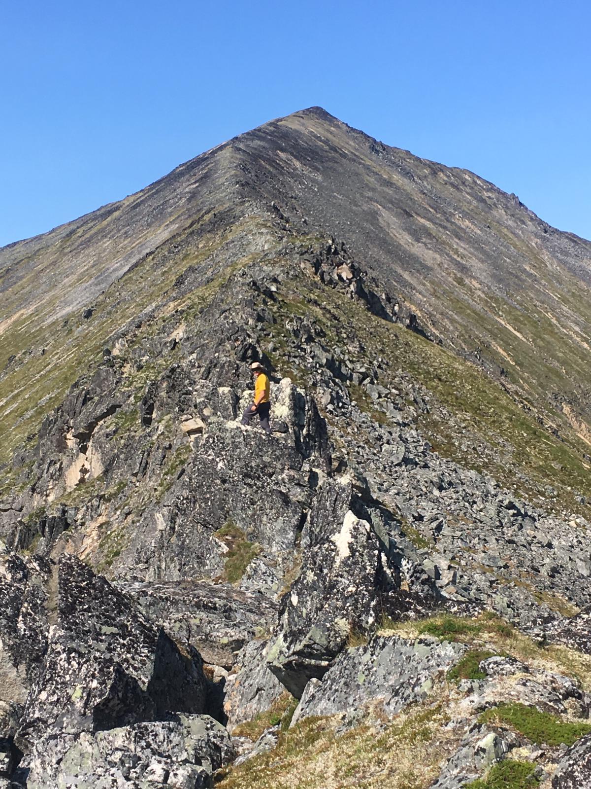 Alaska Ridgeline Hiking