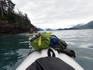 Paddling in Alaska