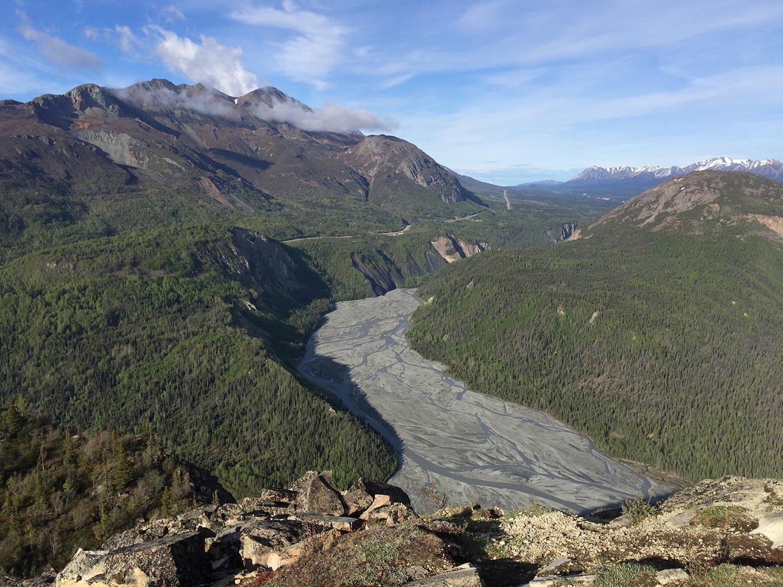 Alpine Views in The Chugach Range