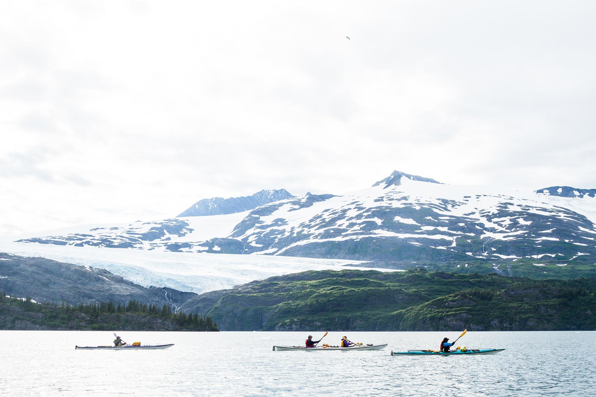 Waterfall Glacier Kayaking