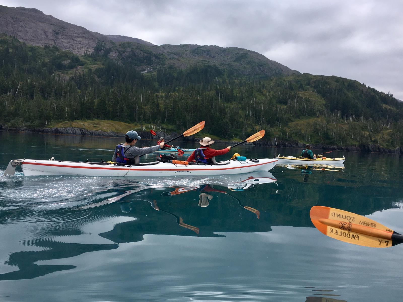 Camping the Coast of Alaska