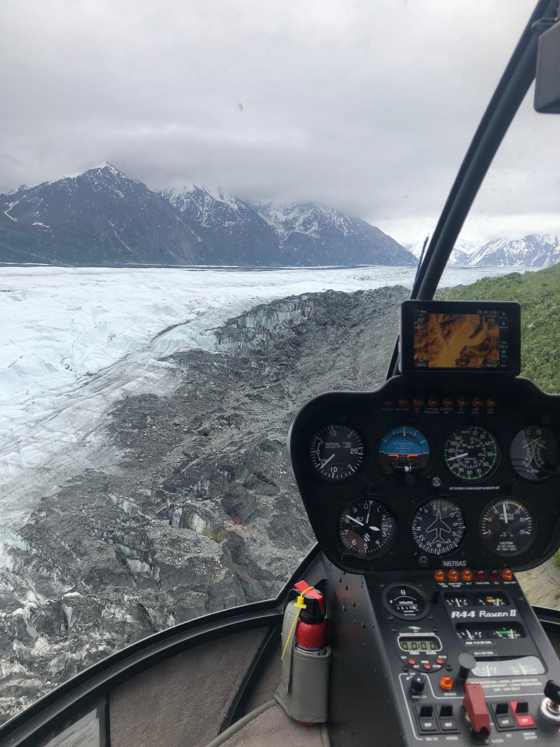 Helicopter Matanuska Glacier