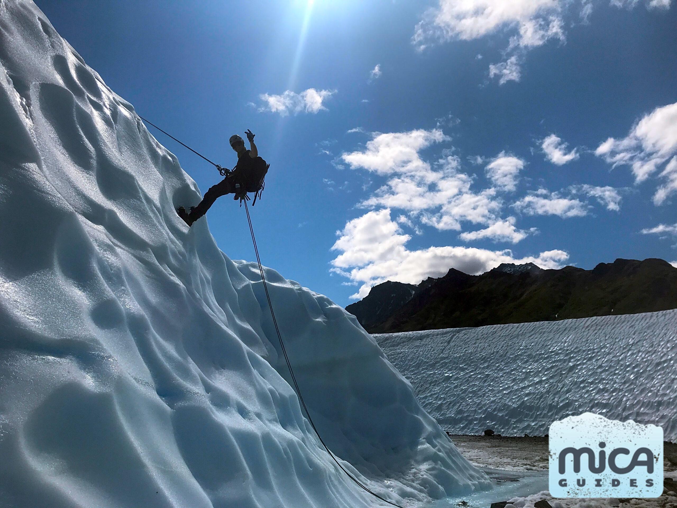 Anchorage Ice Climbing Roadtrip