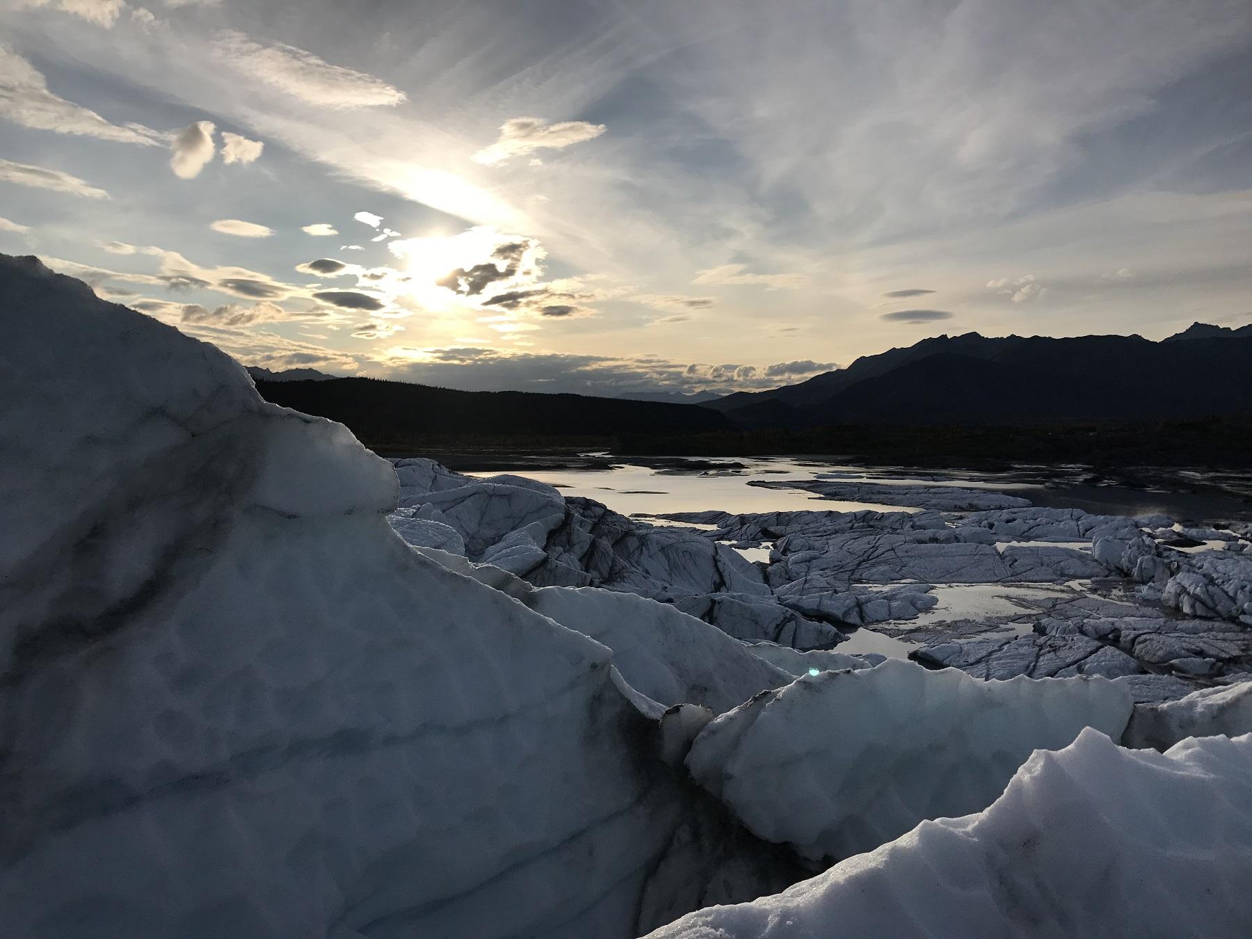 Sleeping on a Glacier