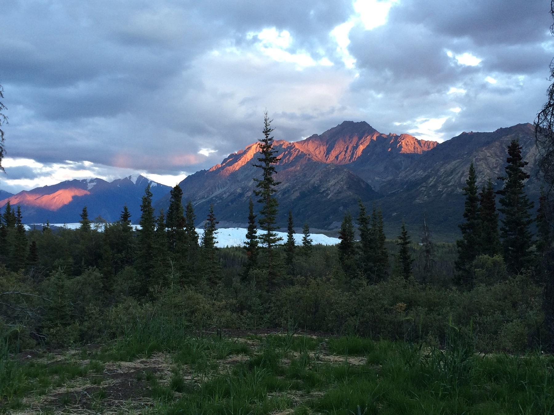 Alpenglow: An Optical Phenomenon