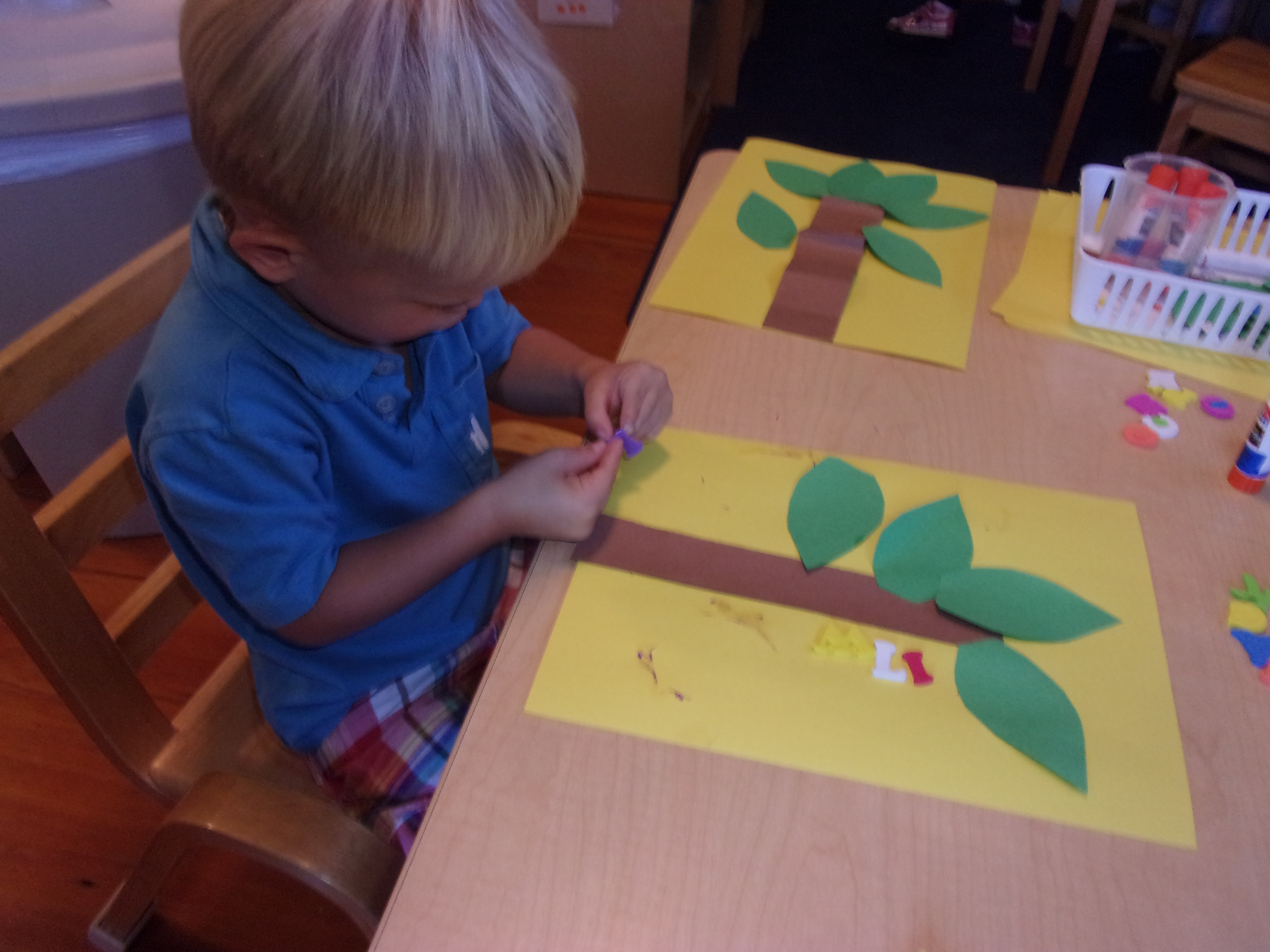 Children learning at Carriage House Nursery School