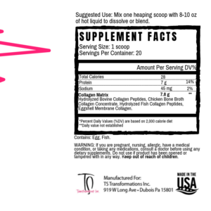 Collagen Supplement Facts