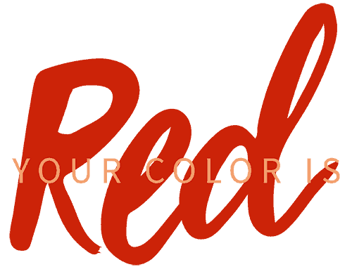 Your Color is Red.