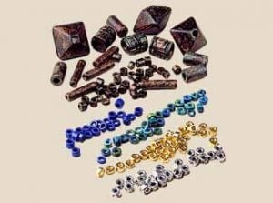 Ceramic Seed Beads and Small Spacer Beads