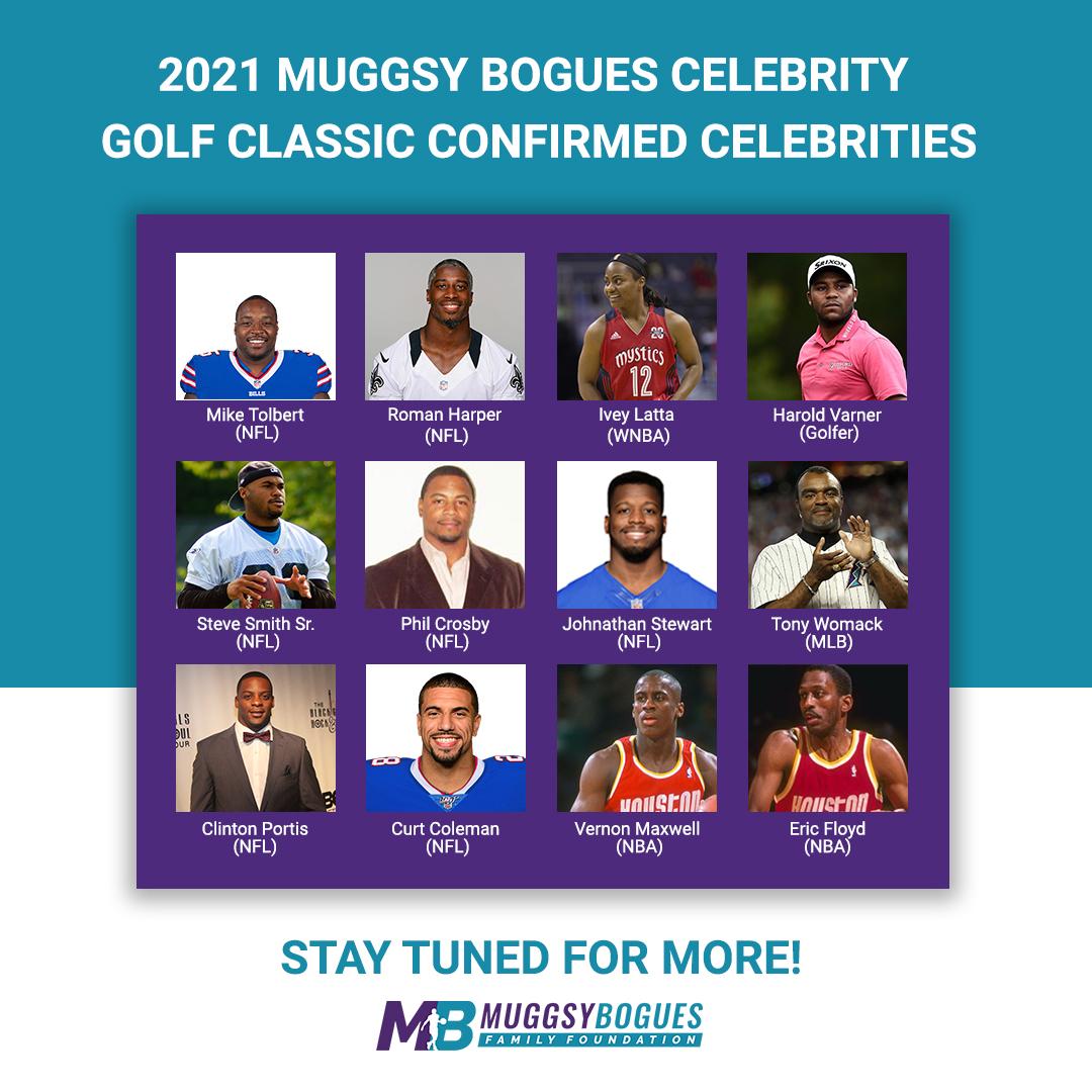 UPDATED Confirmed Celebrities MB Golf