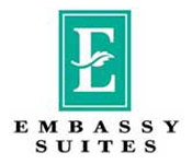 Embassy Suites Blue Ash King Bed