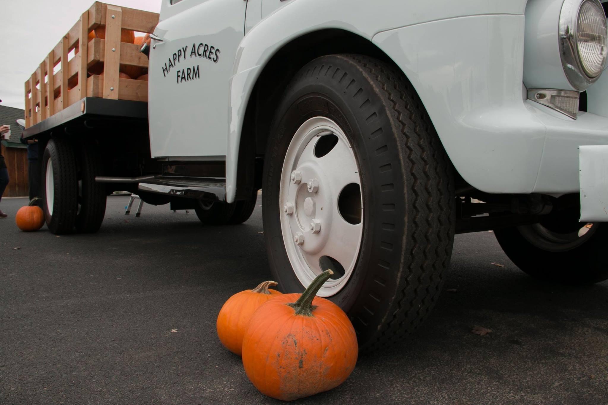 Happy Acres Pumpkin Giveaway