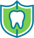 Tooth-in-shield