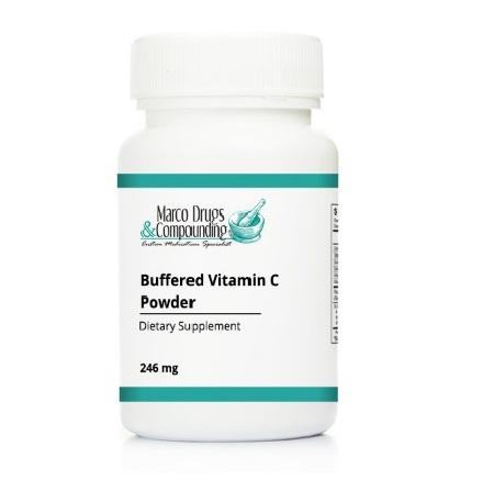 Pill bottle for buffered vitamin C