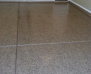epoxy coated concrete