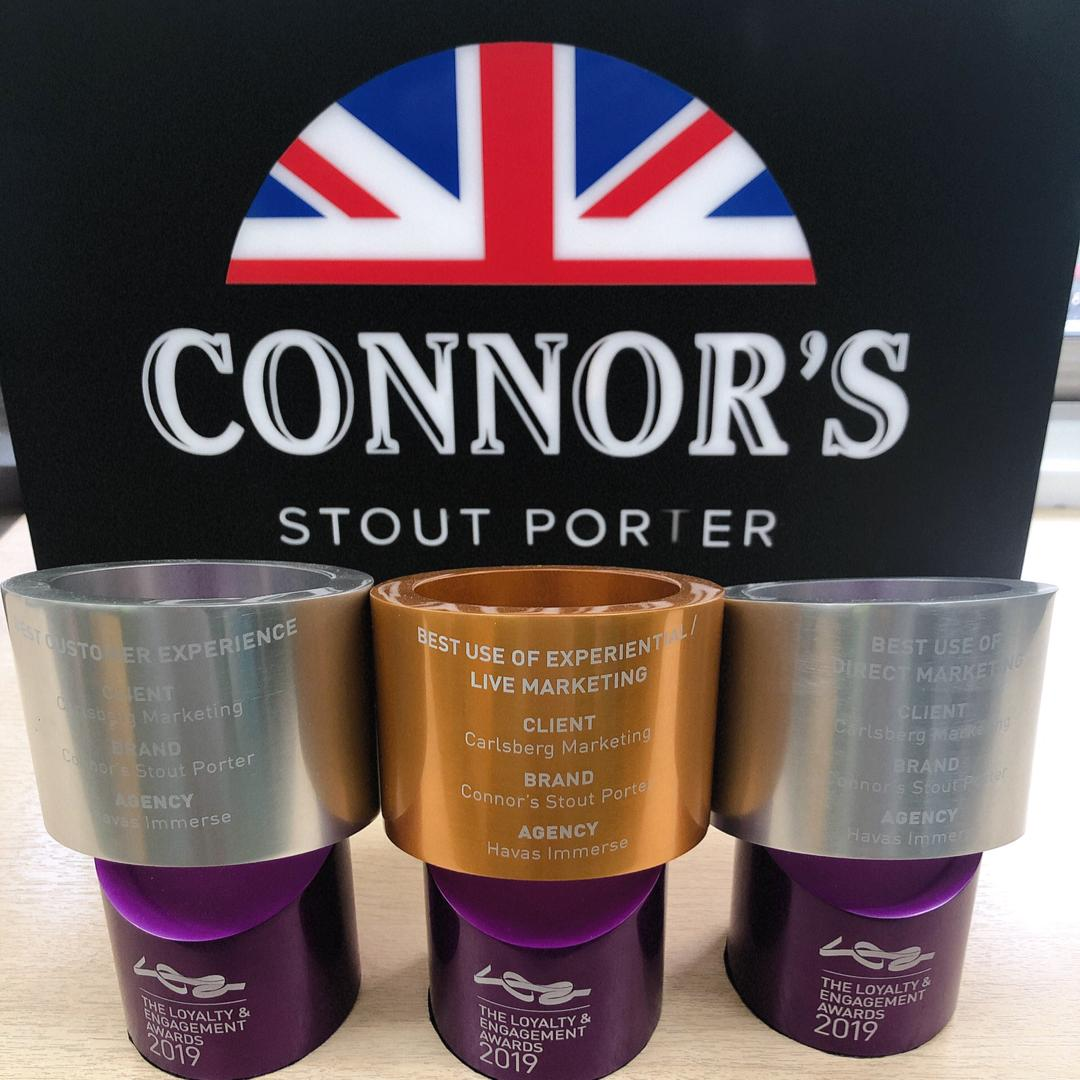 Enjoy award winning stout at Connor's Perfect Pour Challenge