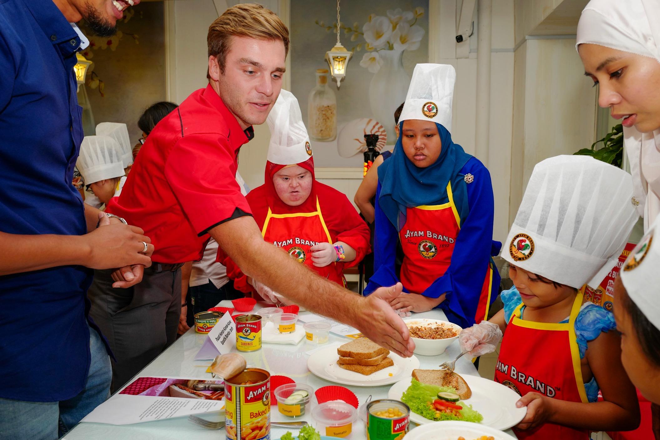 Ayam Brand promotes healthy eating habits among children