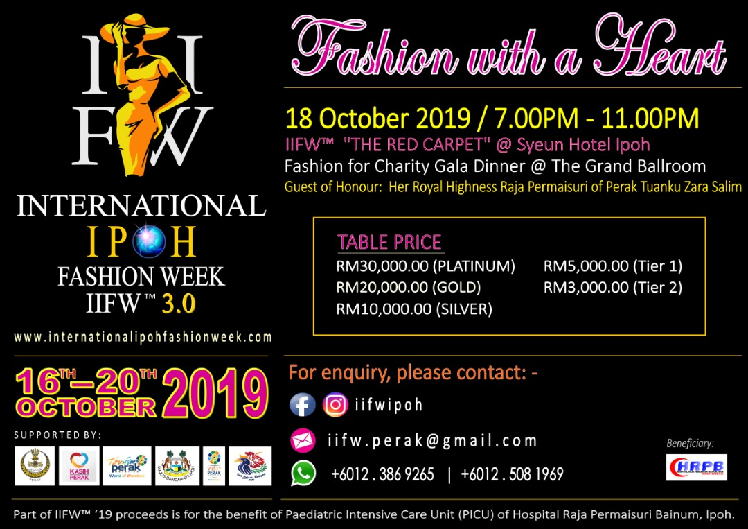 International Ipoh Fashion Week 2019