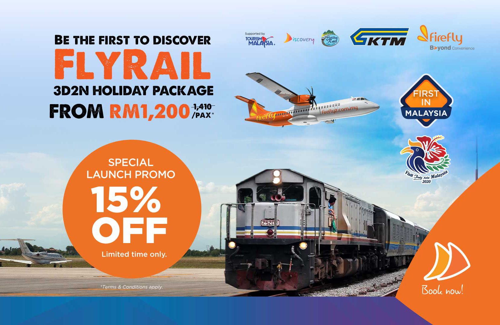PHL – Experience new Firefly / KTMB travel promotion