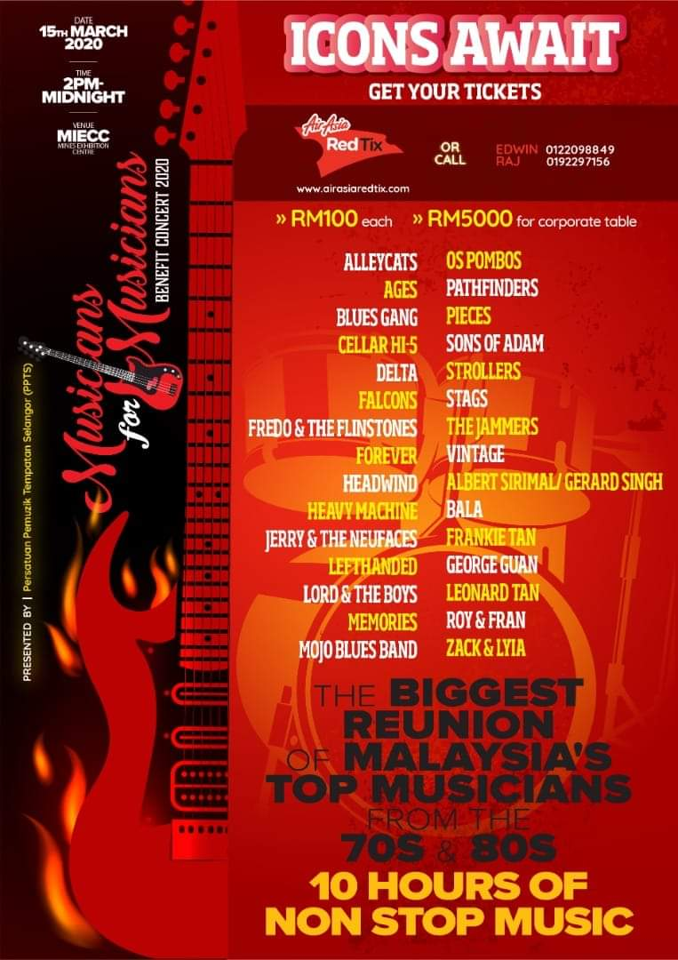 100 musicians to perform at charity event
