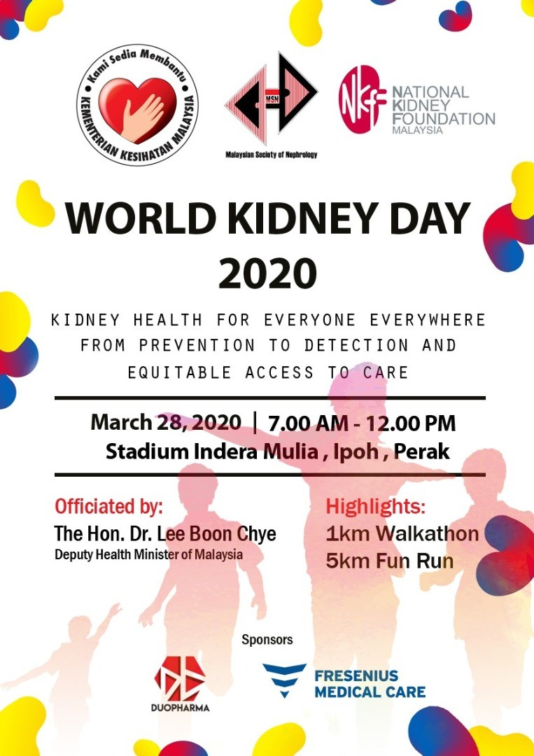 World Kidney Day Fun Run 2020